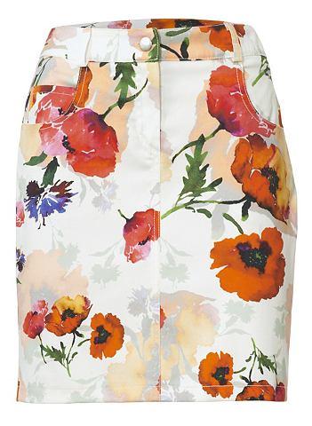 Облегающая юбка с печатным рисунком с ...