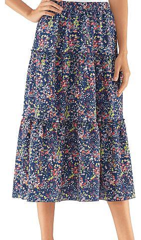 Многослойная юбка в Borkenkrepp-Qualit...