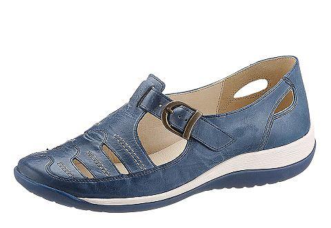 Туфли-слиперы с c боку Gummi-Einsatz