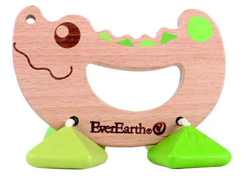 Ever Earth® погремушка из дерево &...