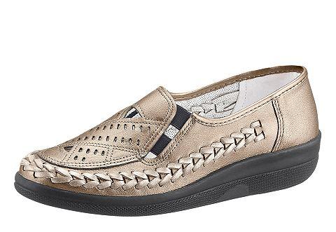 Туфли-слиперы из кожа
