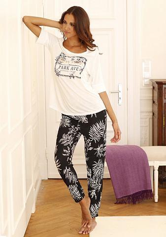 Пижама в modernen черно-белый