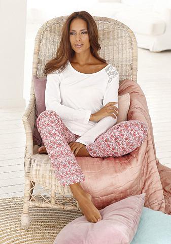 Bodywear пижама edel gemustert с Spitz...