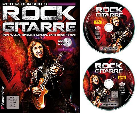 Rock-Gitarre Lehrbuch »Peter Bur...
