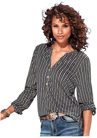 Блузка-рубашка с рукав zum с отворотом...