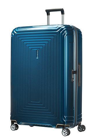 SAMSONITE Пластиковый чемодан на колесиках с 4 к...