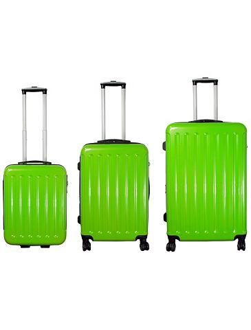 ® набор чемоданов с 2/4 колесики &...