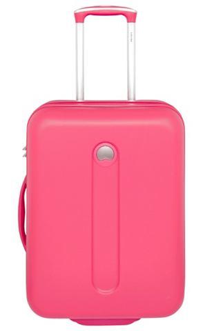 Пластиковый чемодан на колесиках с 2 к...
