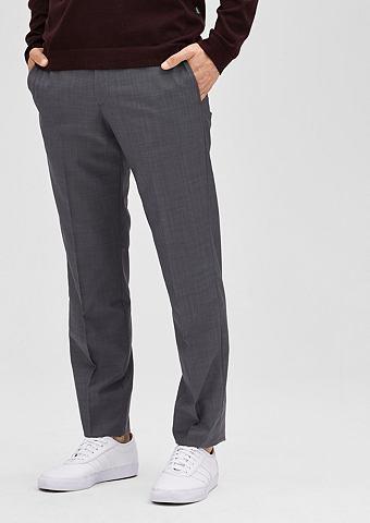 Зауженные брюки из Шерсть