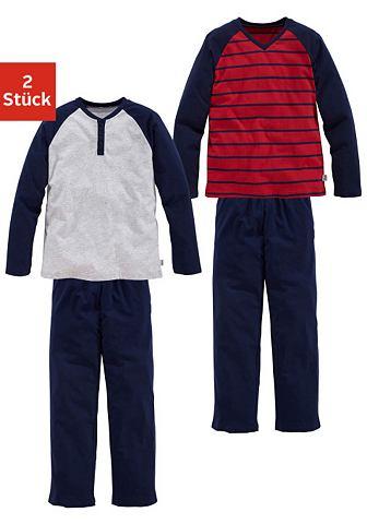 Le брюки длиный из хлопка пижама (2 ед...