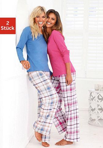 Пижамы (2 единицы с брюки в клетчатый ...