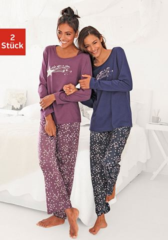 Пижама (2 единицы с Sternenprint