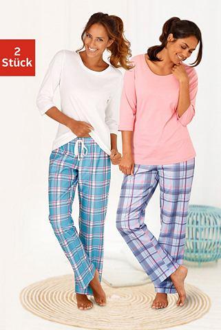 ARIZONA Клетчатая пижама (2 единицы с passende...