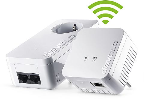 D LAN 550 Wi Fi Kit »Powerline +...