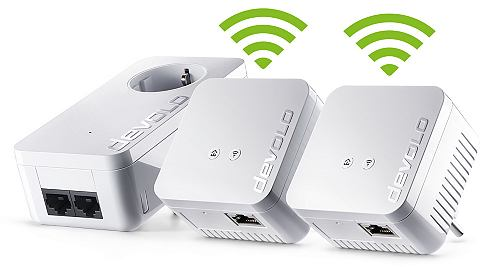 Powerline + WLAN »d LAN 550 Wi F...