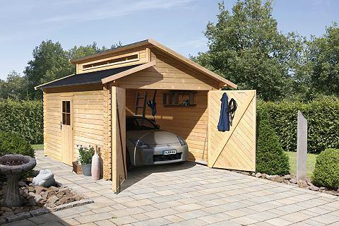 Одноместный гараж »Blockbohlen&l...