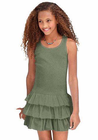 Платье из джерси f