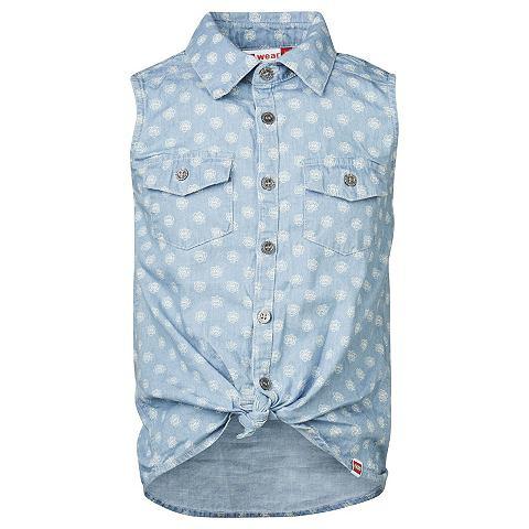 Brick N Bricks блуза в имитация джинсa...