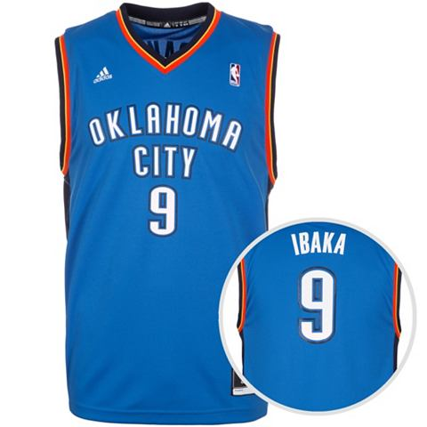 Oklahoma City Thunder Ibaka Replica фу...
