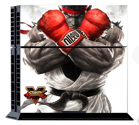 Street Fighter 5 Console Sticker Kit (...