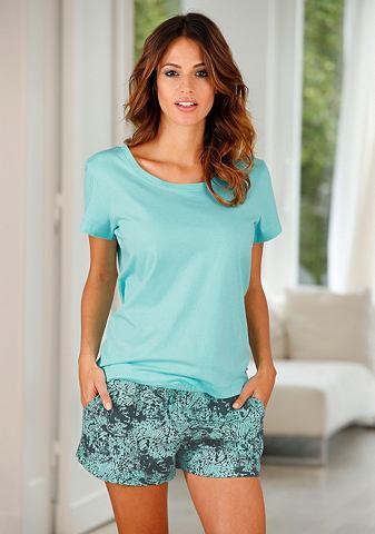 Пижама с gemusterter шорты & softe...