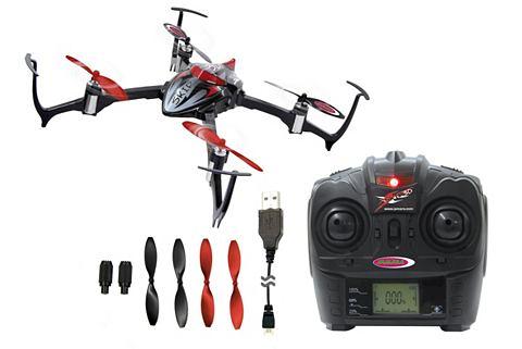 Quadrocopter с LED освещение 24 GHz