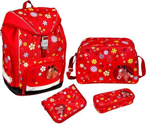 Рюкзак школьный комплект 4 ч.
