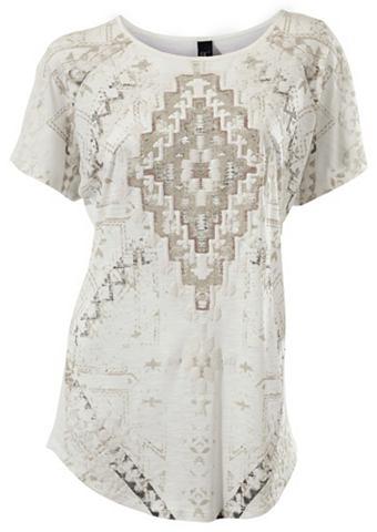 Блуза с круглым вырезом gemustert