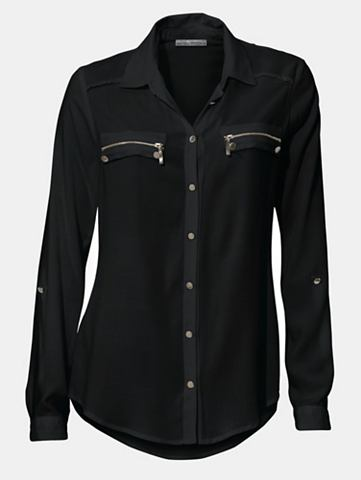 Блузка с рукав zum с отворотом