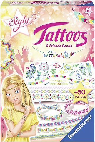 Tattoos и набор для плетения фенечек &...