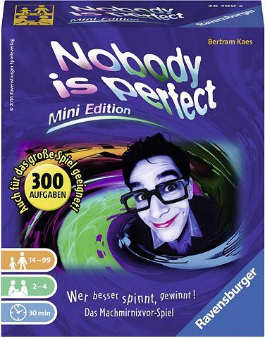 Kartenspiel »Nobody is perfect M...
