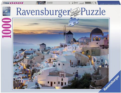 RAVENSBURGER Пазл 1000 Teile »Abend über...