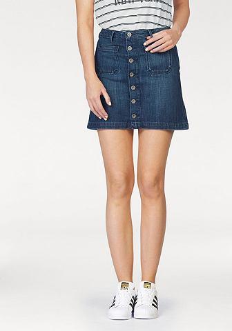 Hilfiger джинсы юбка джинсовая