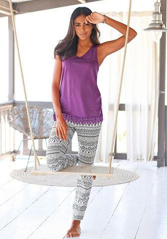 Bodywear пижама в этнический стиль с к...