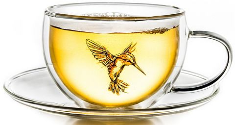Термо кружка красный doppelwandige Tee...
