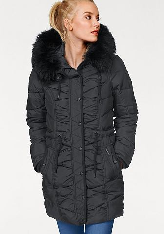 Куртка стеганая с Ärmelstickerei
