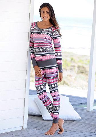 Пижама с buntem норвежский принт