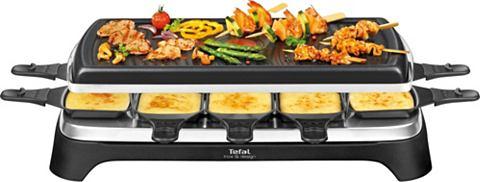 TEFAL Raclette RE4588 10 Raclettepfännc...