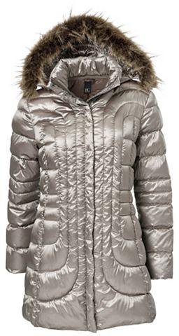 Куртка стеганая с съемный капюшон