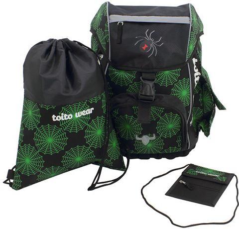 ® рюкзак школьный комплект 3 части...