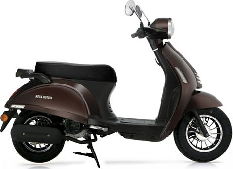 Motorroller 49 ccm 45 km/h braun &raqu...
