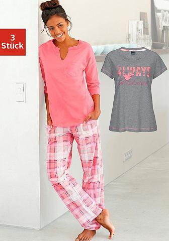 Пижама в комплекте (3 Teile) с клетчат...