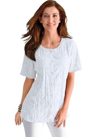 CLASSIC BASICS Блуза в с мятым эффектом