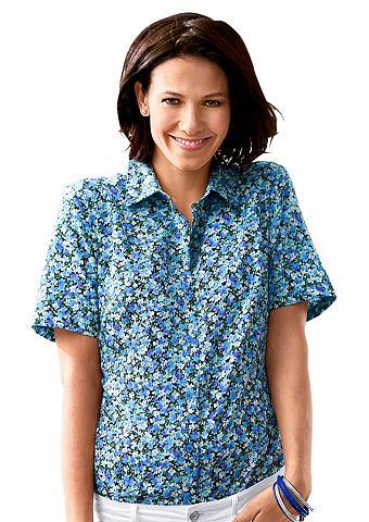 Блуза в pflegeleichter качественный тр...