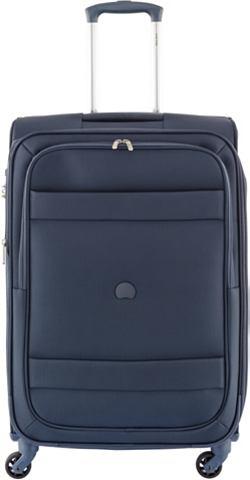 Текстильный чемодан на колесиках с 4 к...