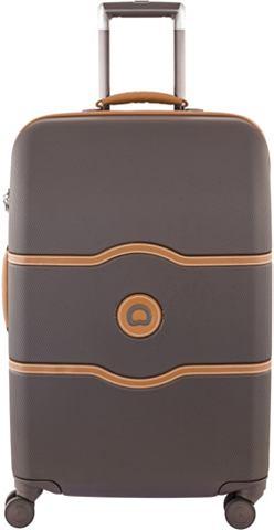 Пластиковый чемодан на колесиках с 4 Д...