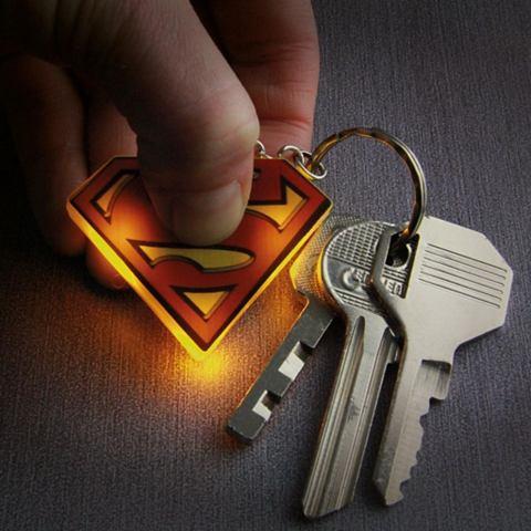 Аксесуары »Superman брелок для к...
