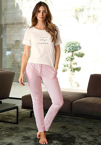 Узкий брюки пижамные с P