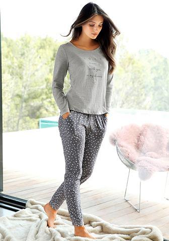Узкий брюки пижамные с точка