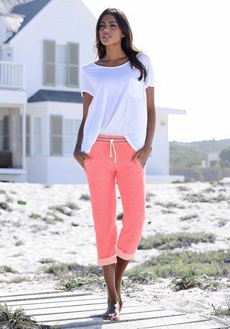 Kanga ROOS брюки-капри с kontrastfarbe...